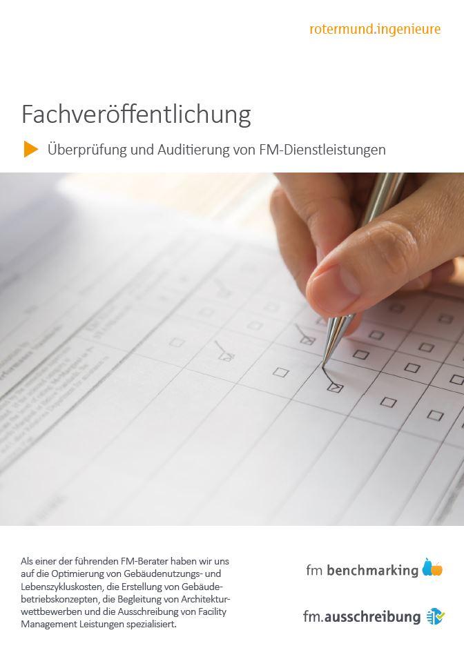 Überprüfung und Auditierung von FM-Dienstleistungen